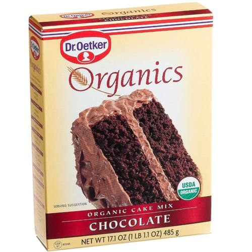 organic cake mix dr oetker organic cake mix chocolate 15 25 oz 6309