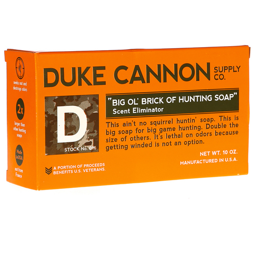 Duke Cannon Big 'ol Brick of Hunting Soap  - 10 oz