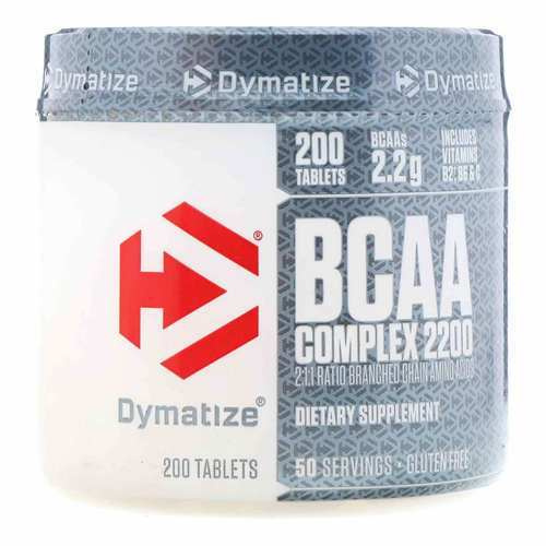 Dymatize BCAA Complex 2200 - 200 Tablets - 5561_front.jpg