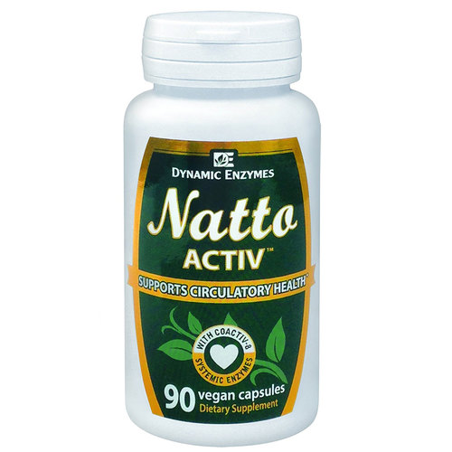 Dynamic Enzymes Natto Activ  - 90 Vegan Capsules - 281839_a.jpg