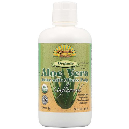 Organic Aloe Vera Juice with Micro Pulp