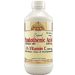 Dynamic Health Laboratories Pantothenic Acid Plus Vitamin C