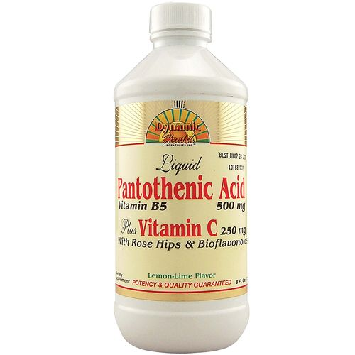 Pantothenic Acid Plus Vitamin C