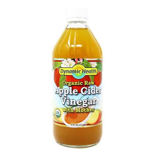 Dynamic Health Laboratories Apple Cider Vinegar with Mother Organic - 16 fl oz - 26294_front2019.jpg