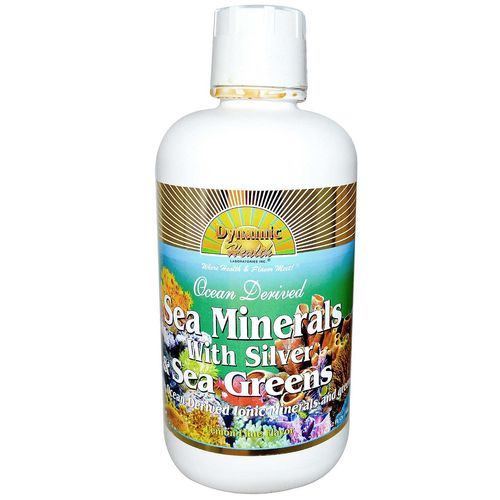 Sea Minerals with Silver and Sea Greens