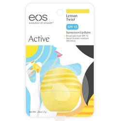 EOS Active Lemon Twist Lip Balm SPF 15