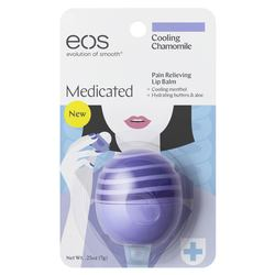 EOS Medicated Pain Relieving Lip Balm Cooling Chamomile