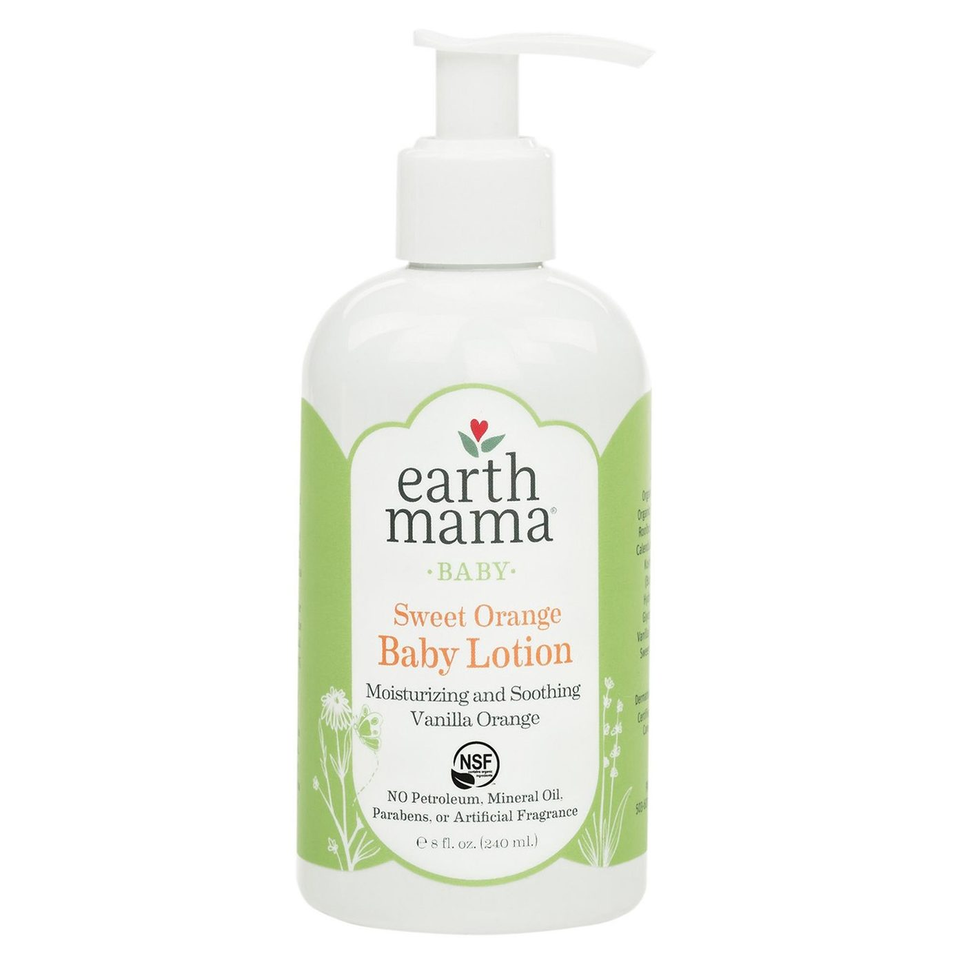 Earth Mama Angel Baby Angel Baby Lotion 8 Fl Oz