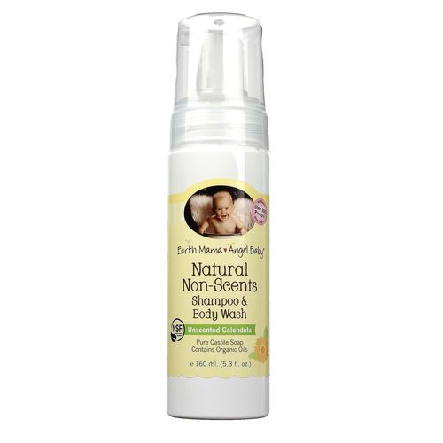 Natural Non-Scents Shampoo and Body Wash