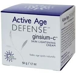 Earth Science Ginsium-C Skin Lightening Creme