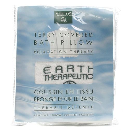 Terry Covered Bath Pillow