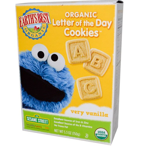 Sesame Street Letter of the Day Cookies