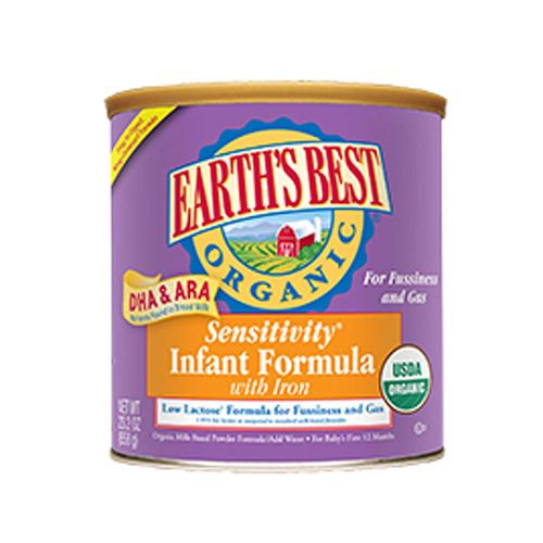 Organic Sensitivity Infant Formula with DHA and ARA