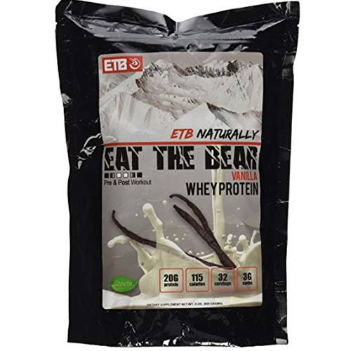 Eat The Bear Natural Whey Vanilla - 31 servings