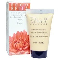Ecco Bella Beauty Liquid Foundation  Skin Treatment In One