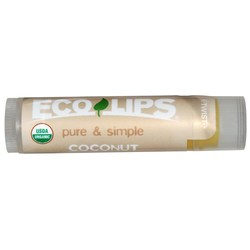 Eco Lips Pure and Simple Lip Balm