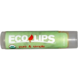 Eco Lips Pure and Simple Lip Balm
