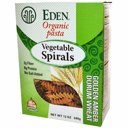 Organic Vegetable Spirals