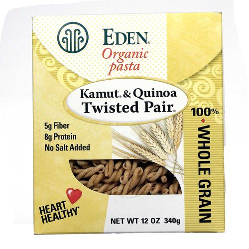 Organic Kamut and Quinoa Twisted Pair Pasta