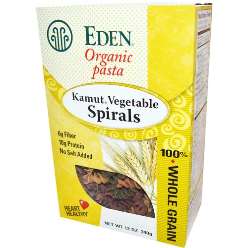 Organic Kamut Vegetable Spirals