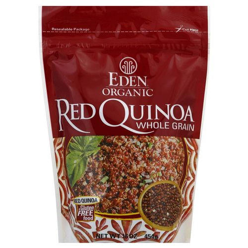 Eden Foods Organic Whole Grain Quinoa - Red - 16 oz