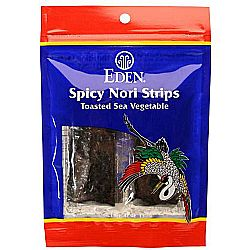 Eden Foods Spicy Nori Strips