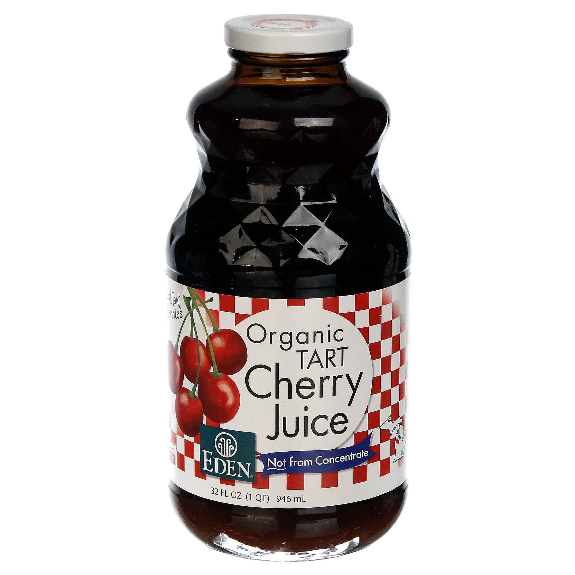 Eden Foods Organic Juice, Cherry - Tart - 32 fl oz