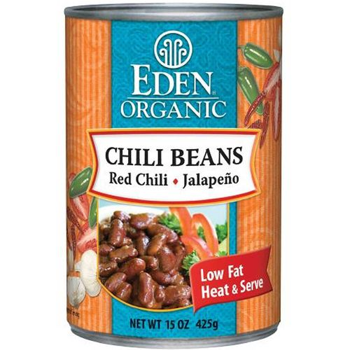 Organic Chili Beans with Japapeno and Chili Peppers