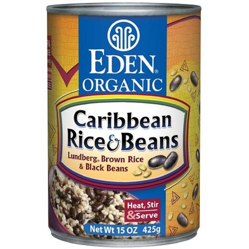 Organic Caribbean Rice and Beans