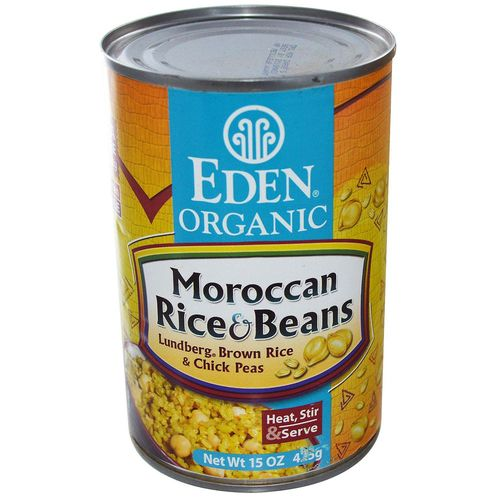 Organic Moroccan Rice and Garbanzo Beans