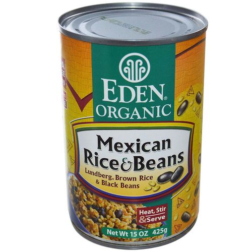 Organic Mexican Rice and Beans