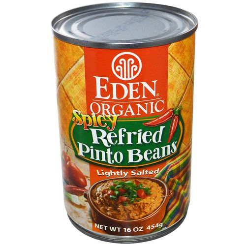 Organic Refried Spicy Pinto Beans