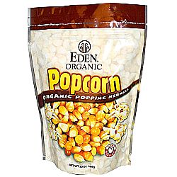 Eden Foods 100- Whole Grain Organic Popcorn