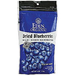 Eden Foods Organic Dried Wild Blueberries