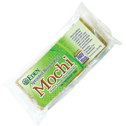 Eden Foods Mochi - Sprouted Brown Rice - 10.5 oz