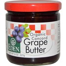 Eden Foods Organic Fruit Butter - Concord Grape - 8 oz