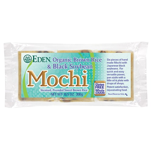 Organic Brown Rice & Black Soybean Mochi