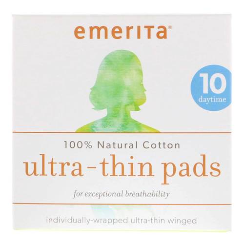 Natural Cotton Ultra Thin Daytime Pads