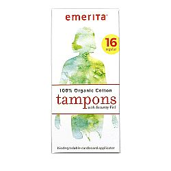 Emerita Organic Cotton Tampons