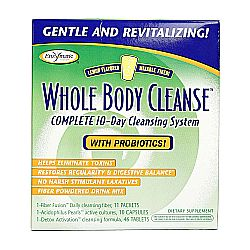 Enzymatic Therapy Whole Body Cleanse Complete 10-Day System with Mixable Fiber