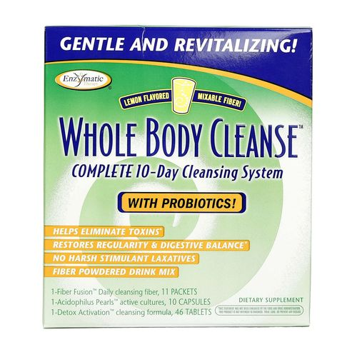 Whole Body Cleanse Complete 10-Day System with Mixable Fiber