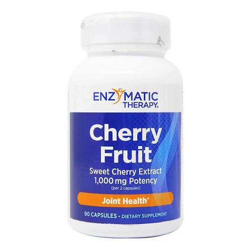 Cherry Fruit Extract by Enzymatic Therapy - 90 粒 - 3869_front2020.jpg