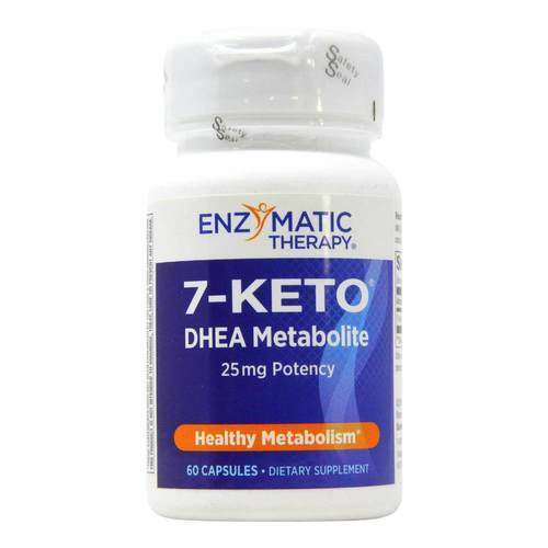 Enzymatic Therapy 7-Keto DHEA with Metabolite - 25 mg - 60 Capsules - 421_front2020.jpg
