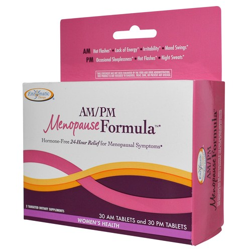 Enzymatic Therapy AMPM Menopause Formula  - 60 Tablets - 5326_01.jpg
