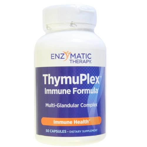 Enzymatic Therapy ThymuPlex  - 50 Tablets - 546_front.jpg