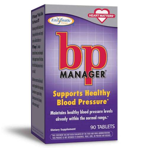 Enzymatic Therapy BP Manager  - 90 Tablets - 6206_front.jpg