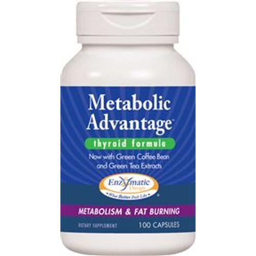 Enzymatic Therapy Metabolic Advantage Thyroid Formula  - 100 Caps