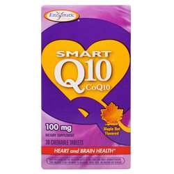 Enzymatic Therapy Smart Q10- 200 mg- Maple