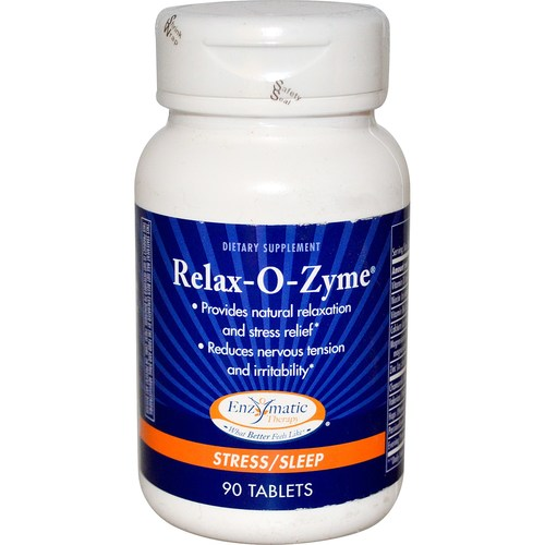 Enzymatic Therapy Relax-O-Zyme - 90 Tablets - 9236_01.jpg