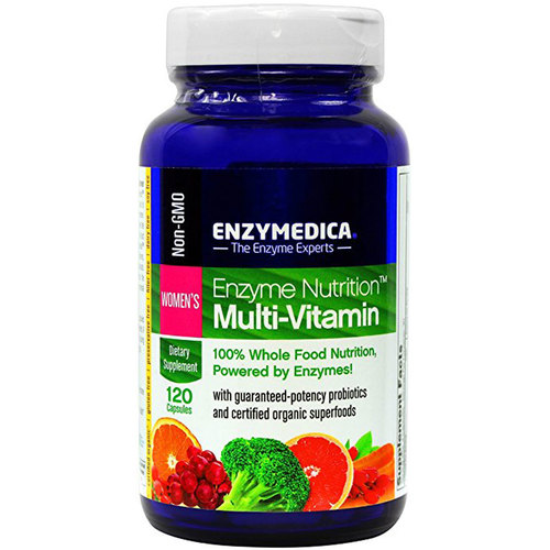 Enzymedica Enzyme Nutrition Womens - 120 Cápsulas